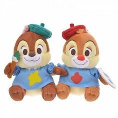 Chip & Dale Plush Doll Set Autumn Collection Plushie Disney Japan for sale online Disney Fan, Cute Disney, Rescue Rangers, Disney Store Japan, Disney Stuffed Animals, Chip And Dale, Disney Merchandise, Disney Toys, Plush Dolls