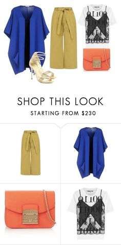 """Без названия #147"" by lesyalife on Polyvore featuring мода, P.A.R.O.S.H., Furla, McQ by Alexander McQueen и René Caovilla"