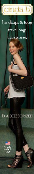 cinda b Classic Handbag $82.00 in Jet Set Black