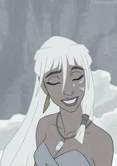 Kida is one of Disney's coolest princesses, and Atlantis was an awesome movie.  I'm still bitter that it tanked, even after all this time ;___;