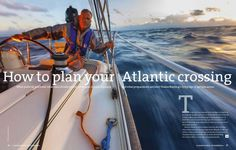 15 things you should know when planning an Atlantic crossing