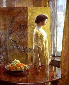"""The East Window,"" Childe Hassam, oil on canvas, 55 X 45 Hirshhorn Museum and Sculpture Garden Collection. Framed Prints, Canvas Prints, Oil On Canvas, Claude Monet, Hirshhorn Museum, American Impressionism, Old Master, Master Art, Famous Artists"