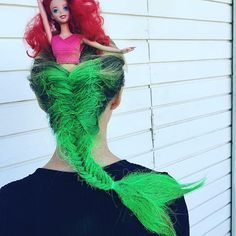 @yalingsale owner at #salonbleu really takes the prize with a #littlemermaid…