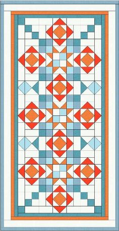 You're going to love Springburst Runner + FREE placemat patt by designer Z at ModWelsh. Star Quilts, Mini Quilts, Quilt Blocks, Table Runner And Placemats, Quilted Table Runners, Quilting Projects, Quilting Designs, Quilting Ideas, History Of Quilting