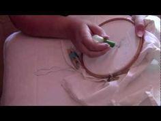 Como bordar con la aguja rusa o mágica