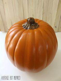 how to make fake pumpkins look real - Large Plastic Pumpkins