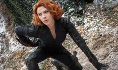 Suited and booted … Scarlett Johansson in Avengers: Age of Ultron, the fourth best-performing film in the US last year.
