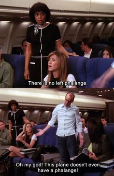 """There is no left phalange.""    ""This plane doesn't even have a phalange!"""