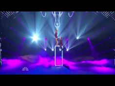 """2013 SAISON 8 DUO RESONANCE acrobates #3 semi finale Top 20 - acro-balance feats with a clear box to Pink's """"Glitter."""""""