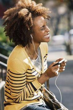 Enjoying your favorite music!