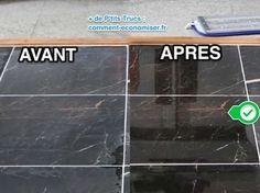 Pas besoin d'acheter de produits chimiques hors de prix ! Et oui, il existe une recette maison pour entretenir et donner un coup d'éclat au marbre. L'astuce est de le nettoyer avec une pâte de cristaux de soude et de blanc de Meudon. Regardez :-)  Découvrez l'astuce ici : http://www.comment-economiser.fr/comment-redonner-brillance-au-marbre-ternis-facilement.html?utm_content=buffere7acb&utm_medium=social&utm_source=pinterest.com&utm_campaign=buffer