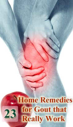 23 home remedies for gout that really work ; good reading article about gout link: http://www.medicalnewstoday.com/articles/144827.php