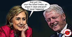 """Dunque sarà Hillary """"for President"""" contro la prospettiva di vedere Donald Trump alla Casa Bianca. Avercene di politici abili e carismatici come la Clinton. Certo, al netto dei toni pro…"""