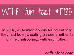 Bosnian couple caught cheating on each other! WTF fun facts