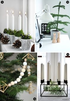 Vianoce, vianočná výzdoba, vianočné dekorácie, advent / Christmas, christmas home decoration - Inšpirácie Scandinavian Christmas Decorations, Scandi Christmas, Noel Christmas, Modern Christmas, Xmas Decorations, All Things Christmas, Simple Christmas, Winter Christmas, Christmas Tables