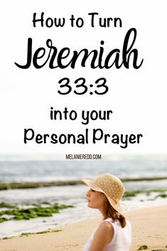 Do you ever find yourself wishing for more wisdom, insight, & understanding? Learn how to turn the Bible verse Jeremiah into a personal prayer. Prayer Times, Prayer Scriptures, Bible Teachings, Bible Prayers, Faith Prayer, Faith In God, Bible Verses, Powerful Scriptures, Faith Walk