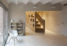 Completed in 2014 in Barcelona, Spain. Images by Lluís Casals. A spacious family…