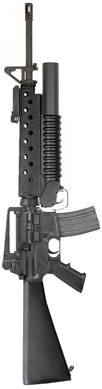 Colt M16A4 / M203 - 5.56x45mm NATO / 40mm