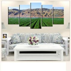 5 Pieces Set Sky Landscape Wall Canvas Painting  Landscape Wall Art Canvas Painting natural nature landscape sky Canvases home decor ideas wall products art panels designs art beautiful living rooms art sets gift decoration ideas awesome cool unique cheap inspirational backgrounds for sale buy online shopping shops website links USA UK Australia Canada Spain France AuhaShop.com