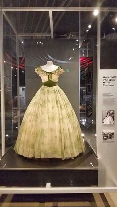 Frankly, my dear i don't give damn! Bbq Dresses, Formal Dresses, Natural History Museum La, Hollywood Costume, Tomorrow Is Another Day, Gone With The Wind, Great Movies, Classic Hollywood, Ball Gowns