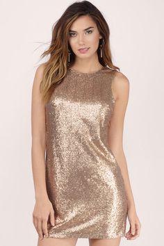 Promises Sequin Shift Dress at Tobi.com #shoptobi