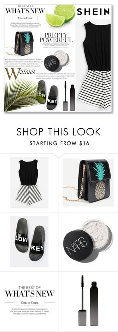 """SheIn 9"" by emiiillly ❤ liked on Polyvore featuring Martha Stewart and Serge Lutens"