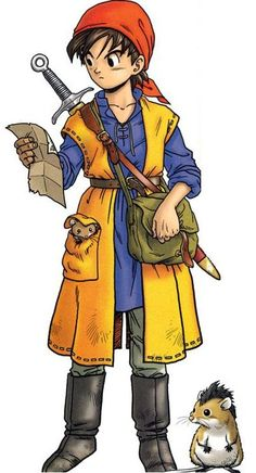 Dragon Quest VII hero by Akira Toriyama Comic Manga, Manga Anime, Comic Art, Character Design References, Game Character, Character Concept, Character Sheet, Character Reference, Akira