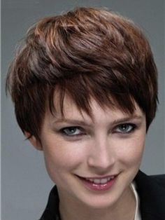 Simple High Quality Exquisite Short Straight Full Lace Wig 100% Real Human Hair     Original Price: $740.00 Latest Price: $235.39