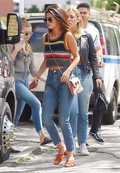 Selena out in NYC Yesterday...