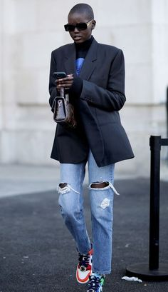 Look Street Style, Model Street Style, Street Style Trends, Street Styles, Urban Street Style, Celebrity Fashion Outfits, Celebrity Style, Fashion Tips, Celebrities Fashion