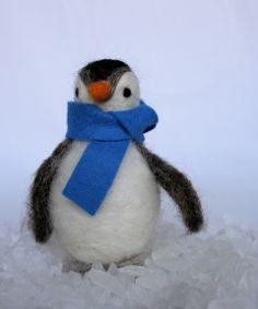 diy penguin Eighteenth Century Agrarian Business: A felted pet!