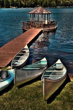- The Canoes at Big Moose Inn - Eagle Bay, New York