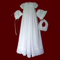 Christening+Gowns+for+Boys | heirloom christening gown with boy girl detachable bibs