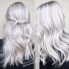 "534 Likes, 33 Comments - Tressa Yanchuk (@tressesbytress) on Instagram: ""❄️ICE ICE BABY ❄️ every time @em.dayton comes in I get so excited! Her #icyblonde makes me so…"""
