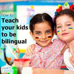 Teaching kids to be bilingual