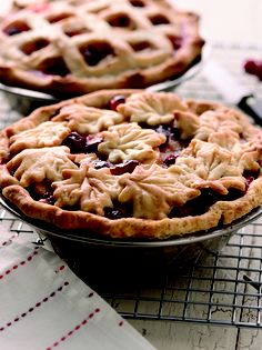 Apple Pie With Cranberries – Tangy/sweet cranberries add flavor and color to this apple pie.