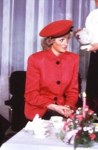 When visiting Bonn, Germany in November 1987 Diana and Charles lunched with West German President Weizsacher and his wife.