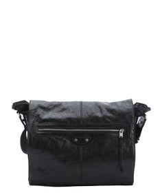 Balenciaga black lambskin classic utility bag | BLUEFLY up to 70% off designer brands