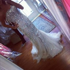 I want for my prom ! Idc if it's to glittery.