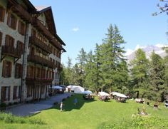 Grand Hôtel Kurhaus à Arolla (VS) Swiss Travel, Dolores Park, Terraces, Switzerland, Hobbies