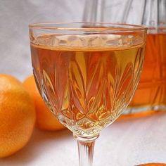 Cómo hacer licor casero de mandarina