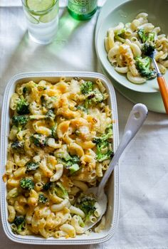 Broccoli Mac and Cheese | I made these tonight and they were really yummy.