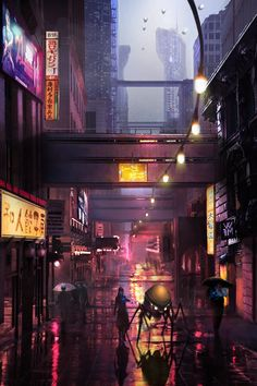 ArtStation - Sci-fi city, Vaggelis Manousakas