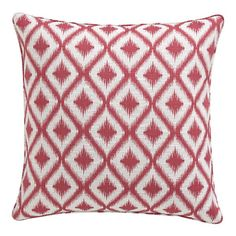 "I still really love this one. You have to get this for sure! Ibiza Raspberry 23"" Pillow in Decorative Pillows 