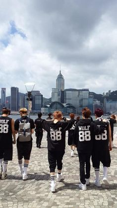 EXO I have this hoodie too I cant wait till I can ware it lol