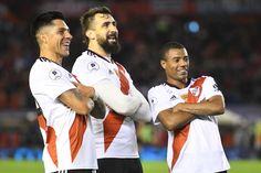 """Lucas Pratto: """"Tenemos un corazón enorme"""" El delantero de River, clave otra vez, destacó la unidad del plantel para conseguir los logros y adelantó: """"Ahora vamos a revalidar la Copa Libertadores""""."""