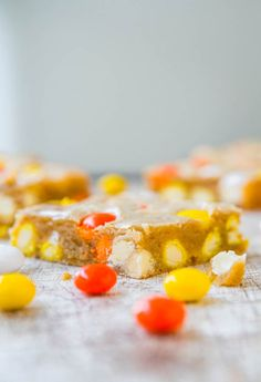 Best Mms Candy Corn White Chocolate Candies Recipe on ...