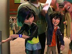 "We get the feeling you're going to love ""Big Hero as much as you love ""Frozen. Big Hero 6 Film, Hero Movie, Big Hero 6 Tadashi, Hiro Big Hero 6, Disney Girls, Disney Love, Disney Art, Big Heroes, Gogo Tomago"