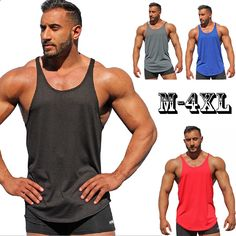 40ce0218096bd Summer New Tank Top T-Shirts Men 2018 Brand Bărbați Solid Culoare Mănuși  Vest Imbracaminte Bodybuilding Top Tank Mens Jersey Plus Size M-4XL