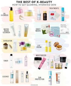 for Glowing Skin: Make Your Face Glow With the Best of K-Beauty The best of k-beauty: how to get glowing, hydrated, flawless skin. How to create your own Korean Beauty Routine at Soko Glam.The best of k-beauty: how to get glowing, hydrated, flawles Beauty Care, Beauty Skin, Face Beauty, Beauty Makeup, Diy Makeup, Fall Makeup, Makeup Hacks, Makeup Trends, Korean Beauty Routine